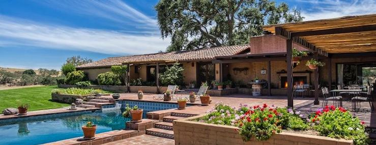Santa Barbara Summers Real Estate Santa Ynez Foxen Canyon Road MLS 17-4222