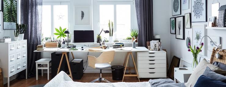Scandinavian Home Office Design Ideas Santa Barbara Summers